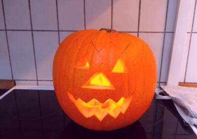 Halloween græskar BørneBiksen