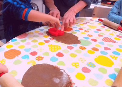 Vi bager småkager BørneBiksen