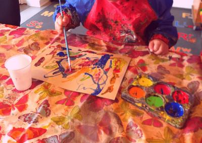 Vi maler i BørneBiksen